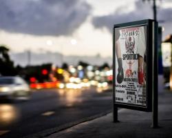 Utcai plakát